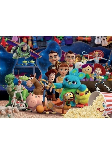 Ravensburger 100 Parça Puzzle WD Toy Story4 104086 Renkli